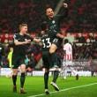 Stoke City 0-2 Manchester City: Silva brace puts Blues on the verge of Premier League crown