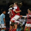Continental Tyres Cup Final: Arsenal 1-0 Manchester City – Miedema strike enough to claim cup win