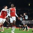 Arsenal (5) 3-1 (1) AC Milan: Welbeck brace sees Arsenal progress