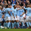 Manchester City 5-0 Swansea City: Champions continue party on pitch with route of Swans