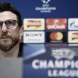 "Eusebio Di Francesco: ""Queremos jugar la final de la Champions League"""
