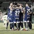 Celebración de los jugadores del Córdoba | Fotografía: Córdoba CF
