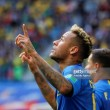 Brazil 2-0 Costa Rica: Late goals earn Brazilians win in dramatic game