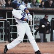 Kevin Millar returns to St. Paul with a bang, Saints win 8-6
