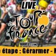 Live Tour de France 2014: la 9ème étape (Gérardmer-Mulhouse) en direct