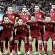 Presentación del España - Israel en El Molinón