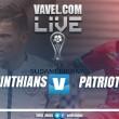 Corinthians x Patriotas AO VIVO online na Copa Sul-Americana 2017