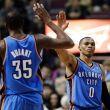 Durant y Westbrook podrían regresar este viernes