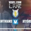 Resultado Corinthians x Vitória no Campeonato Brasileiro 2017 (0-1)
