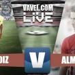 Partido Cádiz CF vs UD Almería en vivo y en directo online en Segunda División 2017