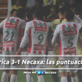 América 3-1 Necaxa: puntuaciones de Necaxa en la jornada 5 de la Copa MX Clausura 2019