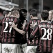 Milan 2-1 Carpi: Rossoneri scrape semi-final spot