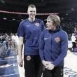 Kristaps Porzingis hace historia ante los Lakers