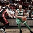 Boston Celtics defeat Miami Heat 96-90, win their second straight