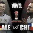 Alemania-Chile: Duelo de gigantes por el primer lugar