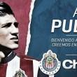 Alan Pulido se viste de rojiblanco