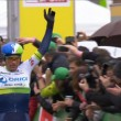 Albasini remporte l'étape, Quintana le général