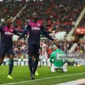Stoke City 1-1 Aston Villa: Albert Adomah's first strike in over a year rescues a point for Villans in an emotional affair at the Bet 365 Stadium