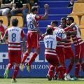 Celebración de uno de los goles la temporada pasada. Foto: La Liga