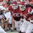 Arkansas Features Balanced Attack In Rout Of Northern Illinois