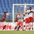 Terminata Carpi - Roma , live Serie A 2015/16: 1-3, Digne-Lasagna, si sblocca Dzeko e la chiude Salah