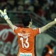 Andrés Fernández, el portero más goleado del Granada CF en una misma liga en Primera