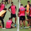Siete entrenamientos para el Granada CF en la semana de parón