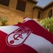 El Granada CF presenta sus nuevas camisetas en la Fuente de las Granadas