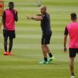 Intensos entrenamientos del Granada CF de Paco Jémez