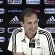 Di nuovo Juve-Milan, anche in Coppa Italia. Allegri in conferenza stampa chiede equilibrio