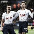 Dele Alli marcou de cabeça e fez o segundo dos Spurs (Reprodução / Tottenham)