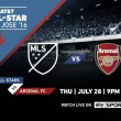 Arsenal to play in MLS All-Star game next pre-season
