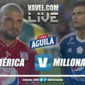 América vs Millonarios en vivo online por la Liga Aguila 2019-I