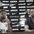 """André é apresentado no Corinthians e diz: """"Estou onde eu queria estar"""""""