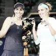 Andreja Klepac and Maria Jose Martinez Sanchez seal their spot at the WTA Finals