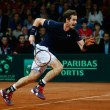 Coppa Davis 2015: Andy Murray batte Bemelmans e pareggia i conti