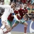 Portugal derrotó a Marruecos en la segunda jornada