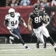 Chargers vira na prorrogação, bate Falcons e continua recuperação na NFL