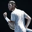 Australian Open: Adrian Mannarino sees off lucky loser Matteo Berrettini