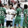 Arábia Saudita vira sobre Egito no fim e volta a vencer em Copas após 24 anos