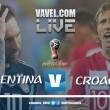 Resumen Argentina vs Croacia: un repaso de fútbol deja a los argeninos al borde del fracaso