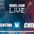Resultado de Argentina y Chile (1-0)