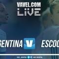 Argentina vs Escocia en vivo online por el Mundial Femenino