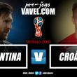Após tropeço na estreia, Argentina busca recuperação contra Croácia