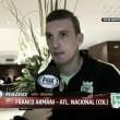 """Franco Armani: """"Lo de River fueron rumores, mi cabeza está en Nacional"""""""