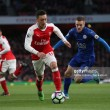 Arsenal edge thrilling match at the Emirates to earn victory on opening day