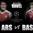Previa Arsenal - Basilea: arrancar en Champions