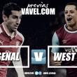 Previa Arsenal - West Ham: seguir mejorando