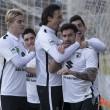 Adrián mantiene al Burgos en el buen camino