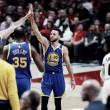 Stephen Curry brilha, Warriors vence Blazers e fecha série em quatro jogos